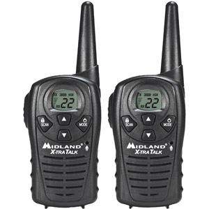 """Midland GMRS 2-Way Radio with 22 Channels Value Pack, LXT118""; Find it  here"