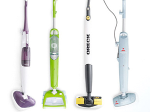Mops, Brooms, Cleaning Aids; Examples of what we use can be found  here  and  here