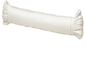 Shoe-String/Easily Tie-able Rope; Examples can be seen  here  or at any hardware/general store