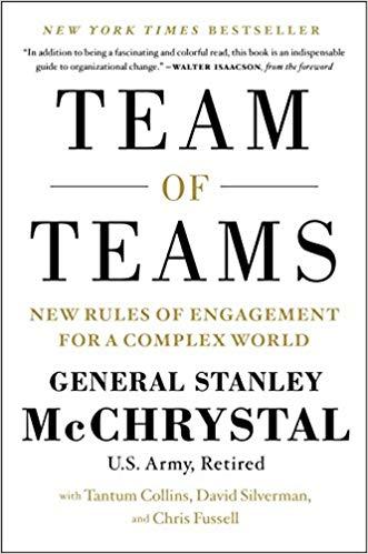 team of teams by General Stanley McChrystal.jpg