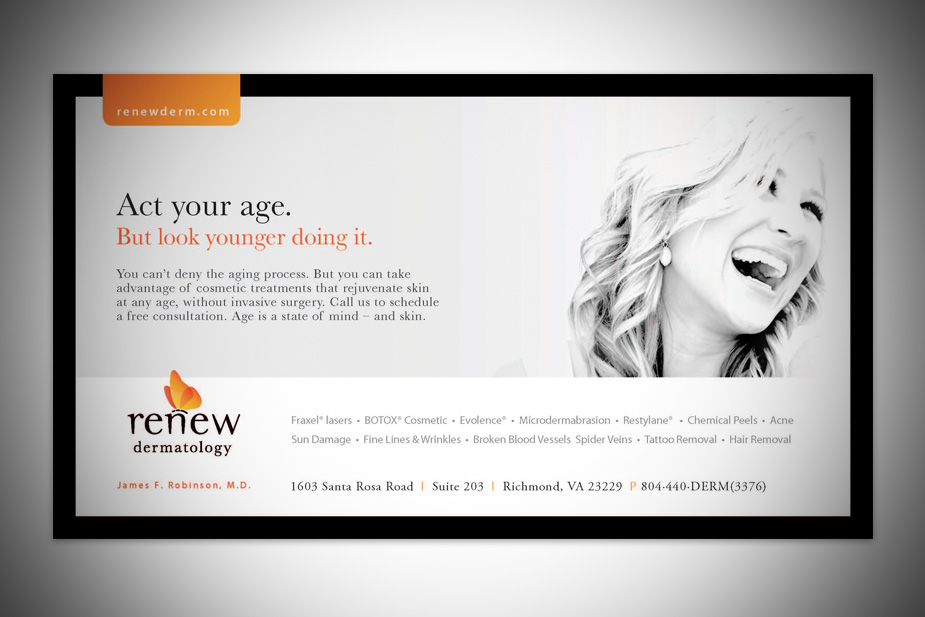 Renew Services Print Ad