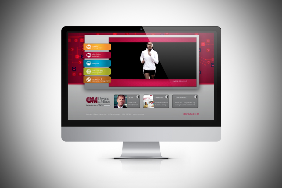 O&M Delivering More Video Landing Page