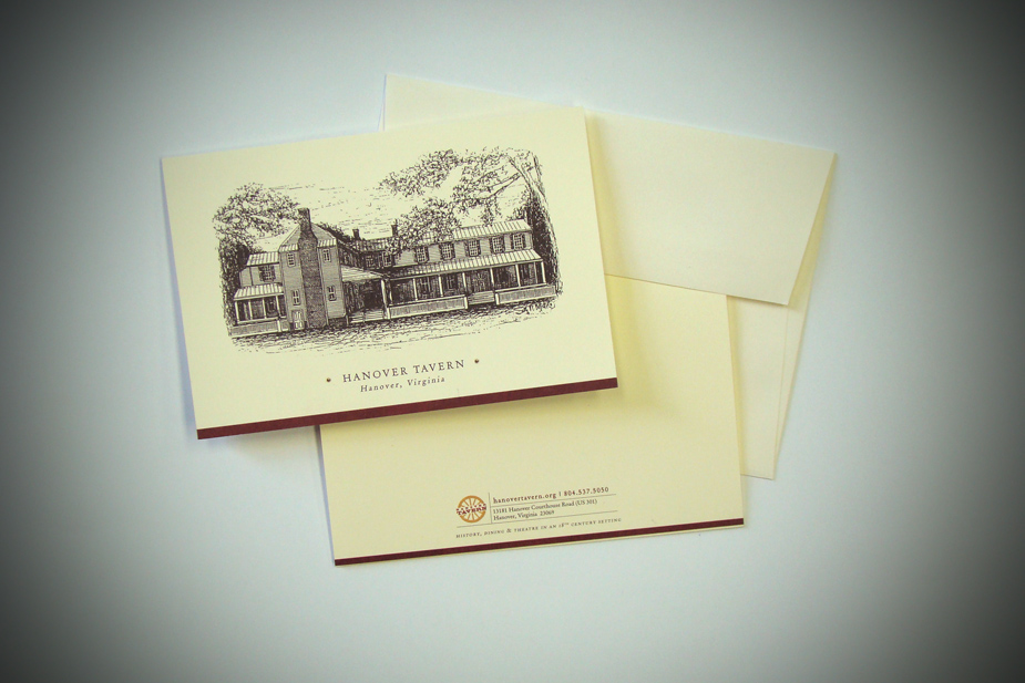 Hanover Tavern Greeting Card