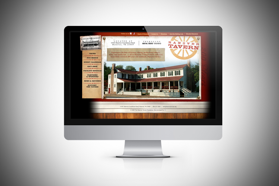 Hanover Tavern Website