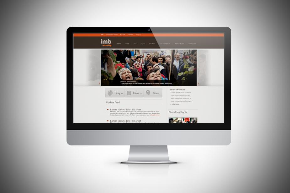 IMB.ORG UI Design