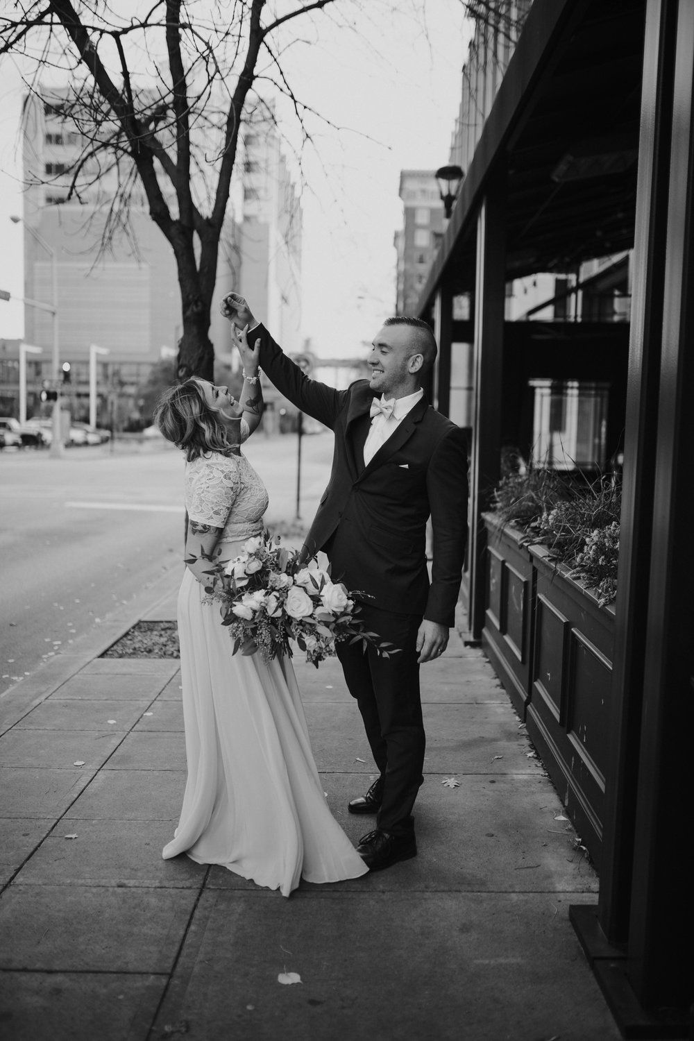 Weddings - MEGHAN & KOREYDes Moines, Iowa Elopement