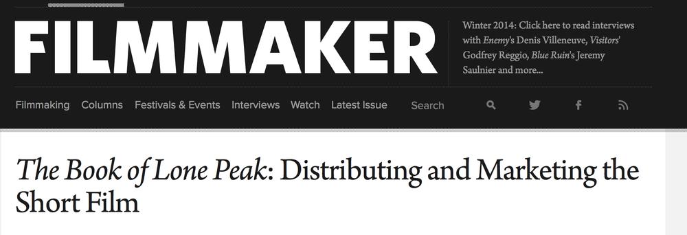 Filmmaker Magazine