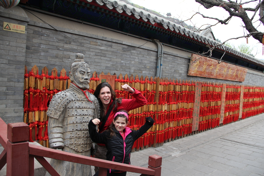 We're not near the city of the terracotta warriors but this was close enough!