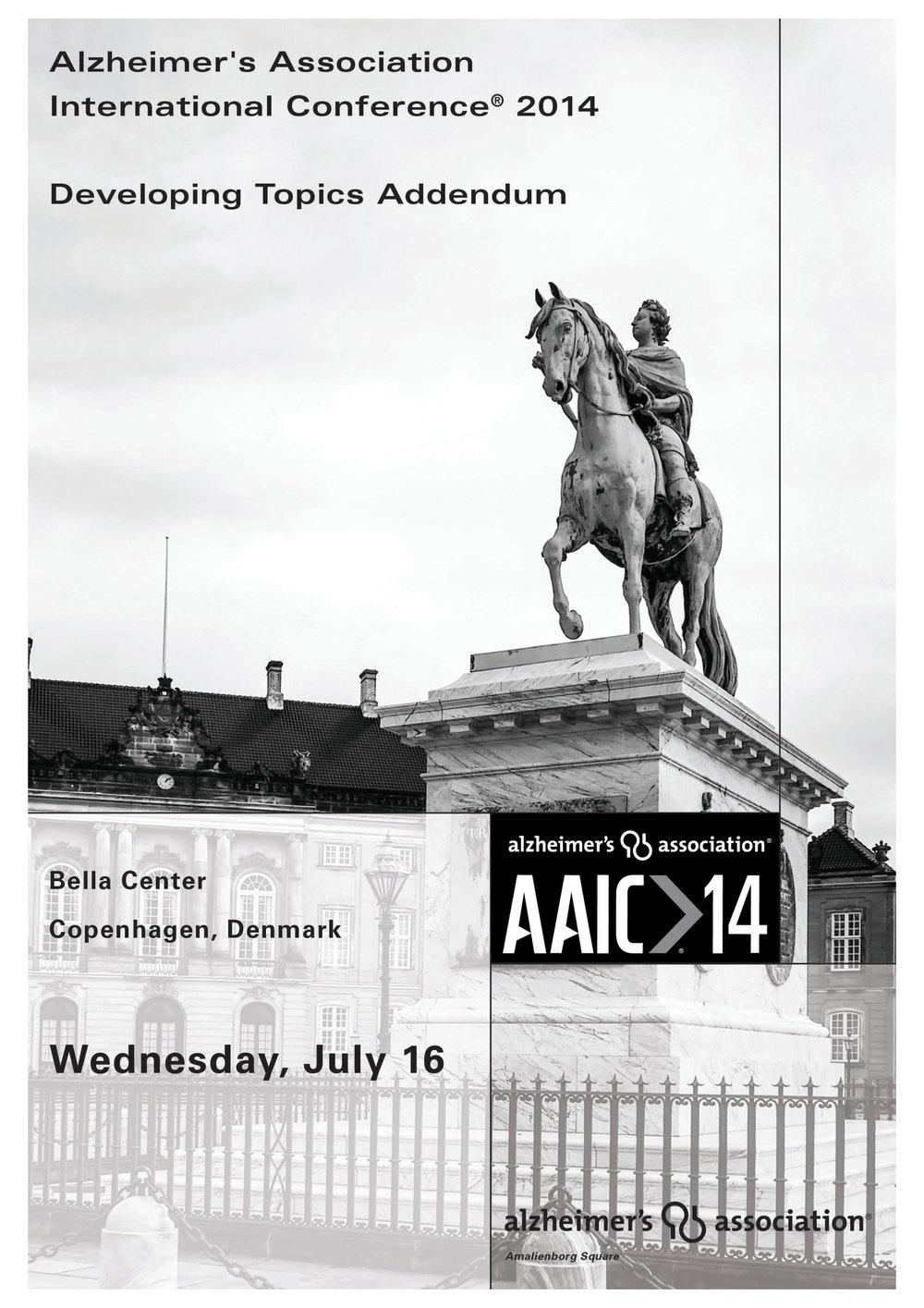 AAIC14 DEVELOPING TOPICS ADDENDA