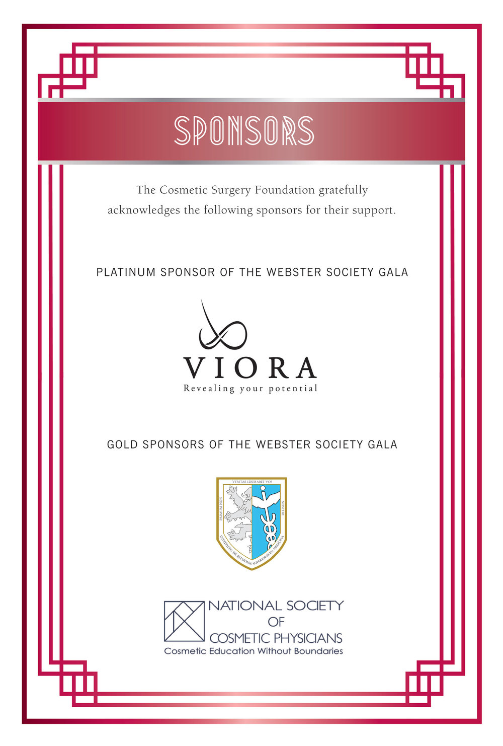 AACS | WEBSTER SOCIETY GALA