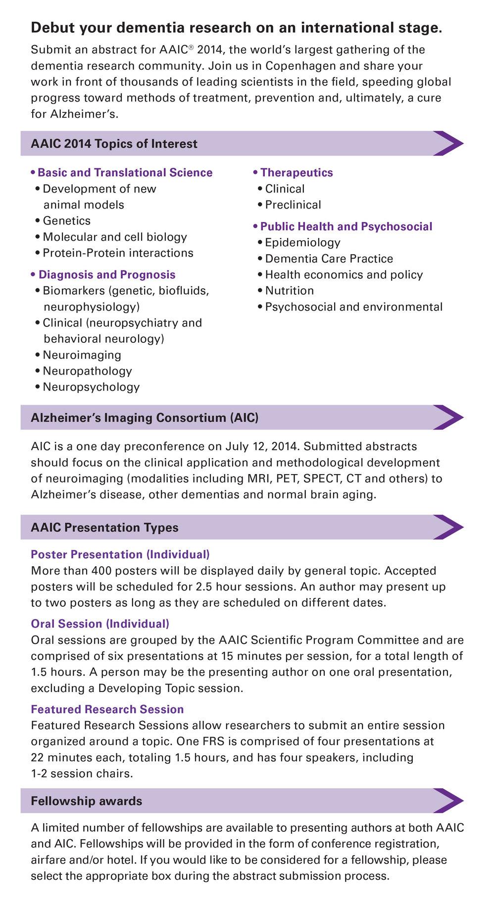 AAIC14 ABSTRACT POSTCARD