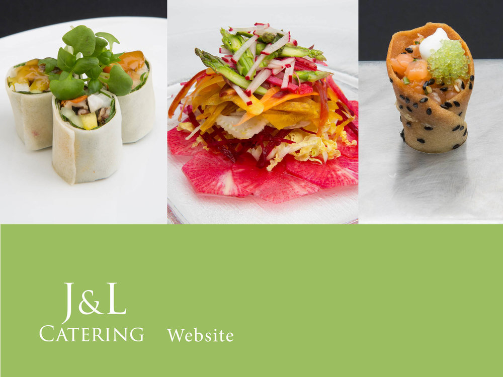 J&L Catering Website