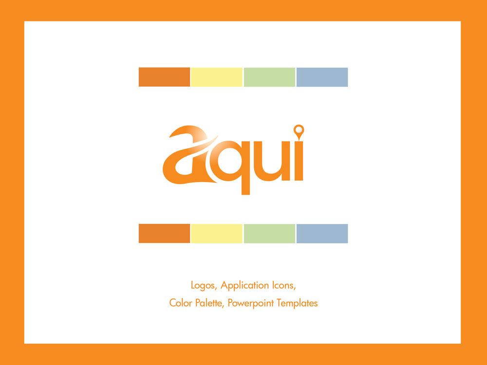 Aqui Brand Program and Powerpoint