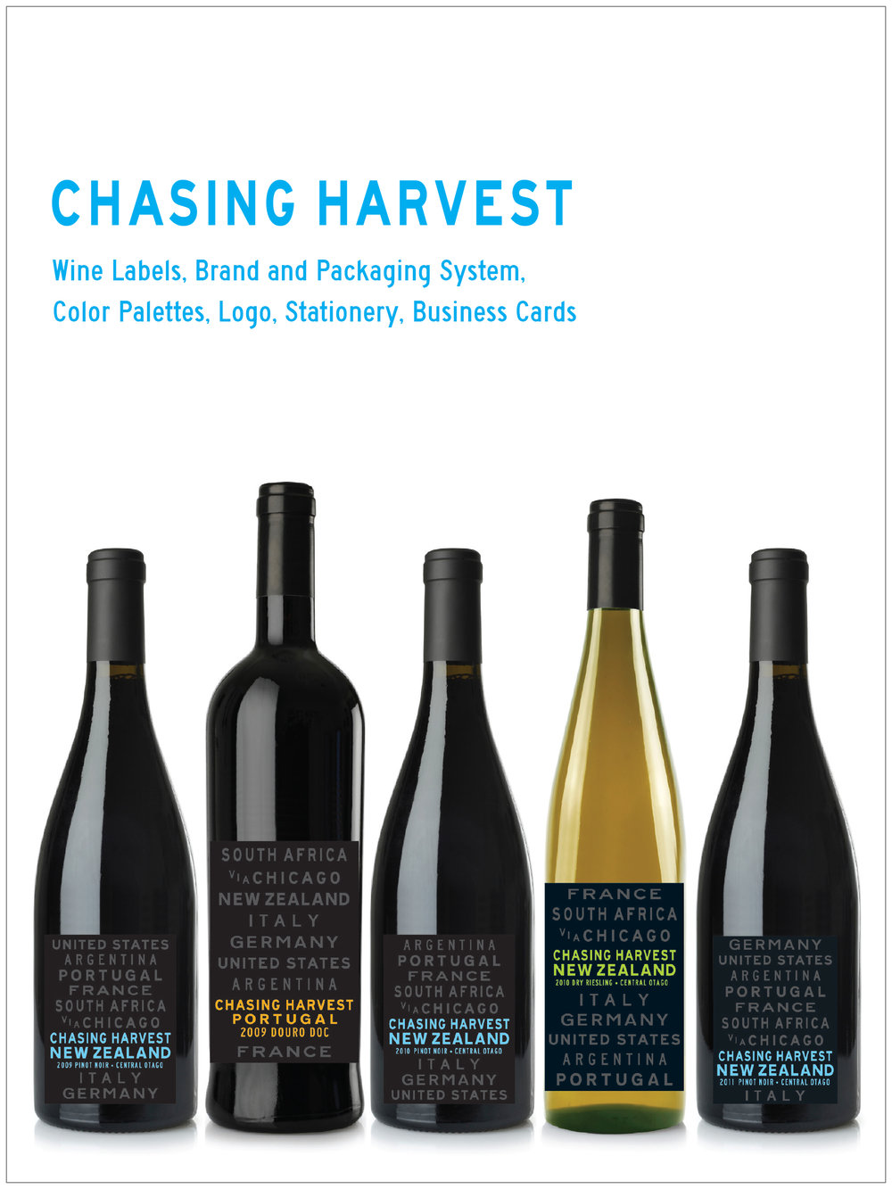 CHASING HARVEST Brand & Packaging Program