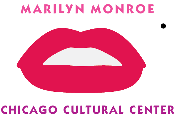 Chicago Cultural Center Marilyn Monroe Art Exhibit Logo