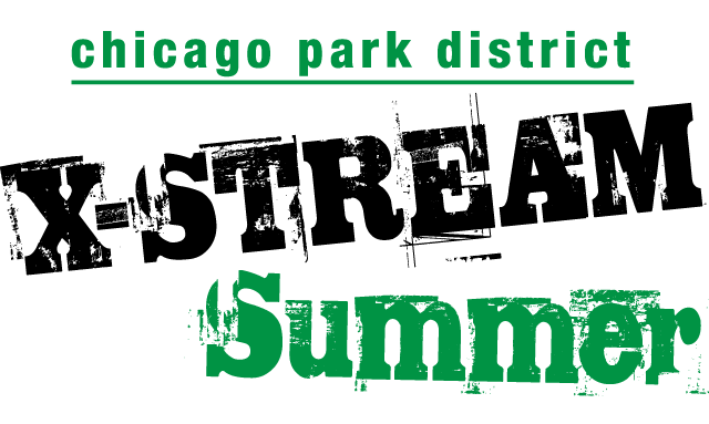 Chicago Park District X-STREAM Summer Logo