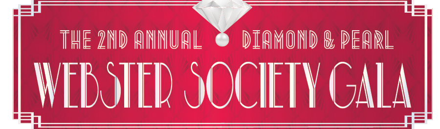 Webster Society Gala Logo