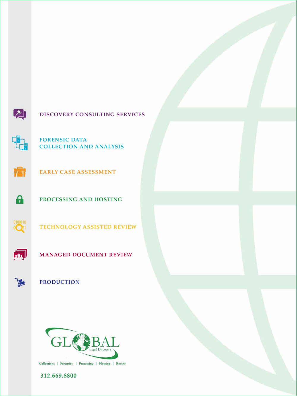 Global Legal Discovery Sales Kit