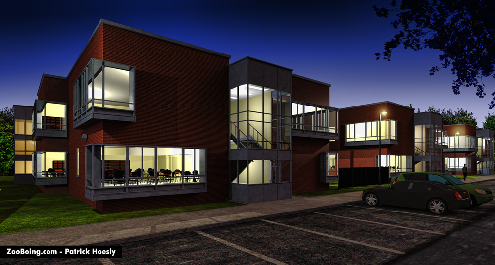 Exterior Night - School-Photoreal.jpg