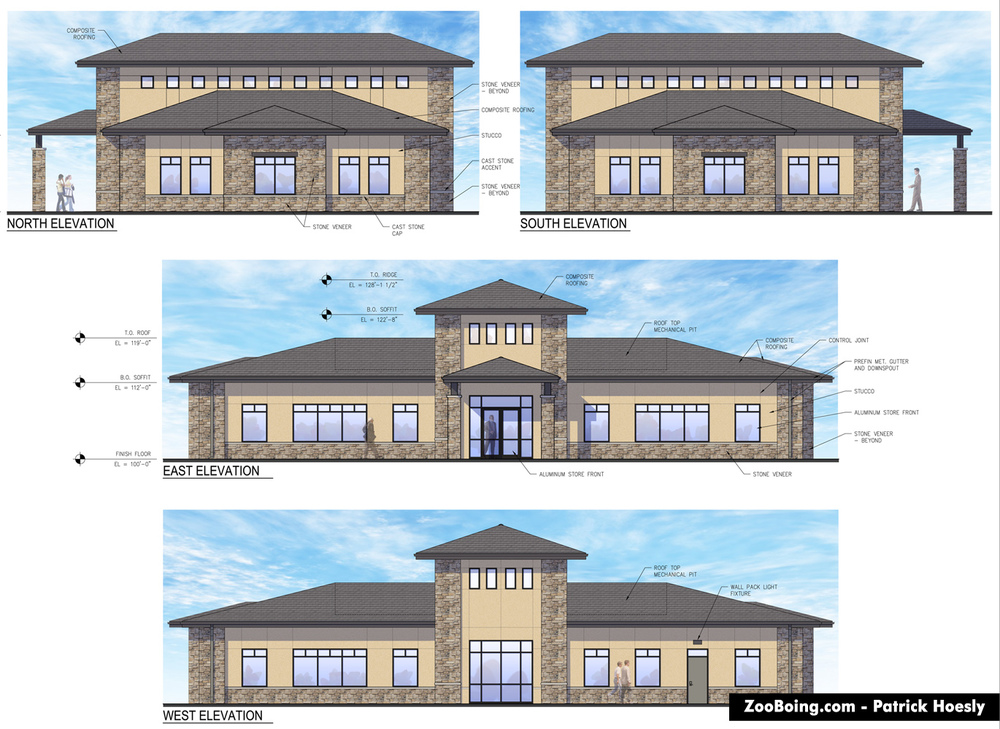 Commercial Building Elevation Plan Designs : Commercial building elevations joy studio design gallery