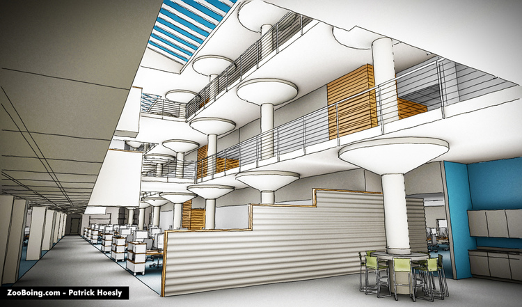 Commercial Interiors Sketchup