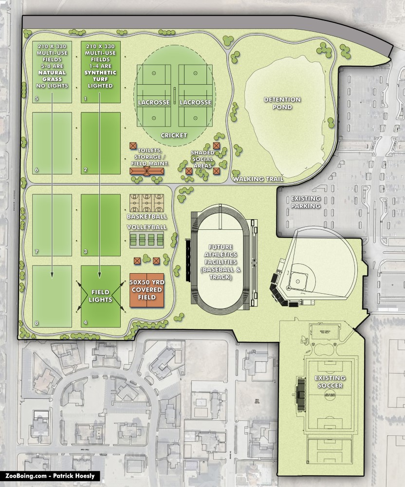 Site Plan Illustration