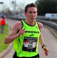 Portland resident and elite marathoner Ryan Vail