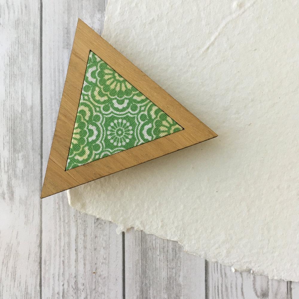 Green Fern - Triangle