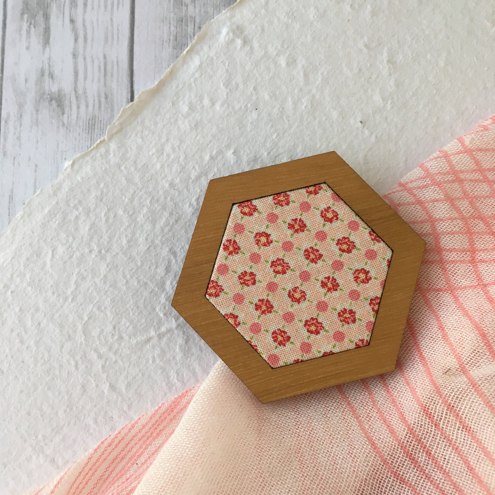 Pretty in Pink - Hexagon