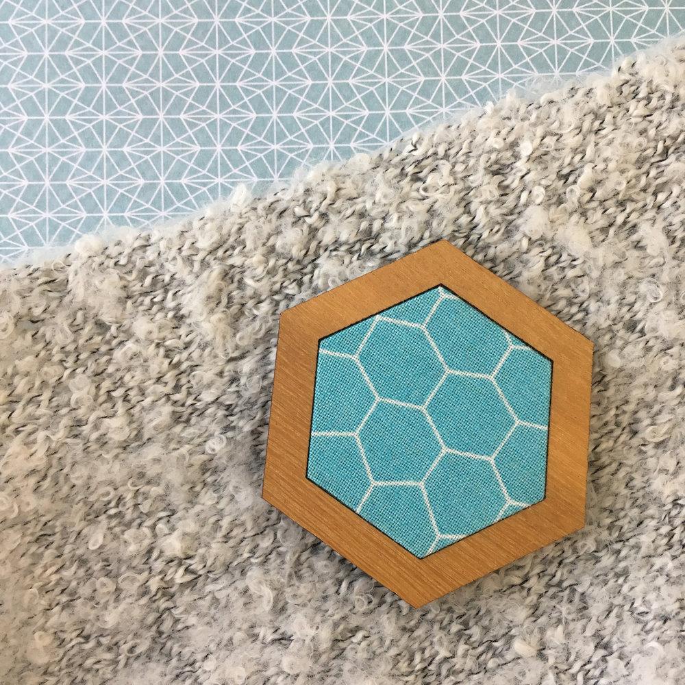 Blue Hex - Hexagon