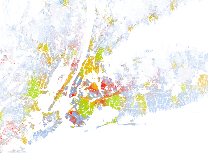 New York metropolitan area, from a new map created by Dustin Cable of the University of Virginia's Weldon Cooper Center for Public Service.