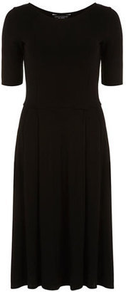 2. Dorothy Perkins Tall black plain midi dress