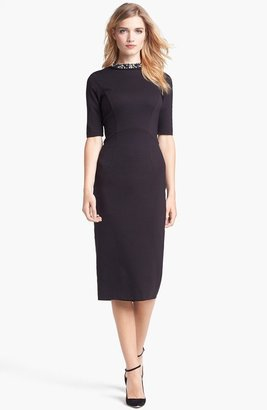 5. Ted Baker Stretch Knit Midi Dress