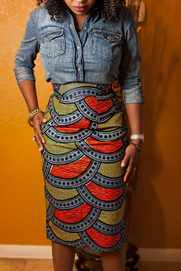 African Fashion Blogger Style Blogger African Wax Print Ankara Fabrics