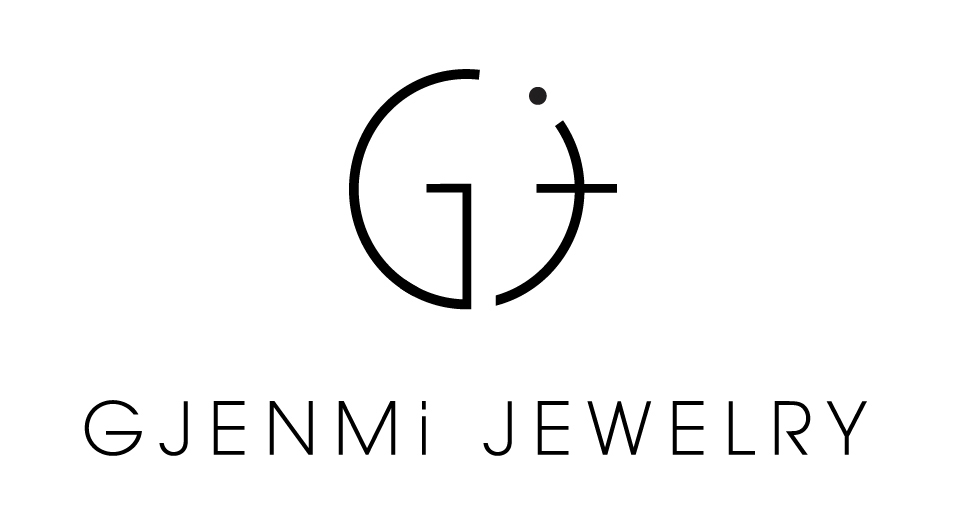 asymmetrical letter necklace j gjenmi