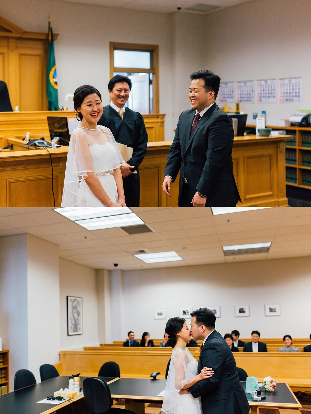 Seattle Courthouse Wedding Photographer PNW elopement Photography - Annie & Alan - Ashley Vos Photography-10.jpg