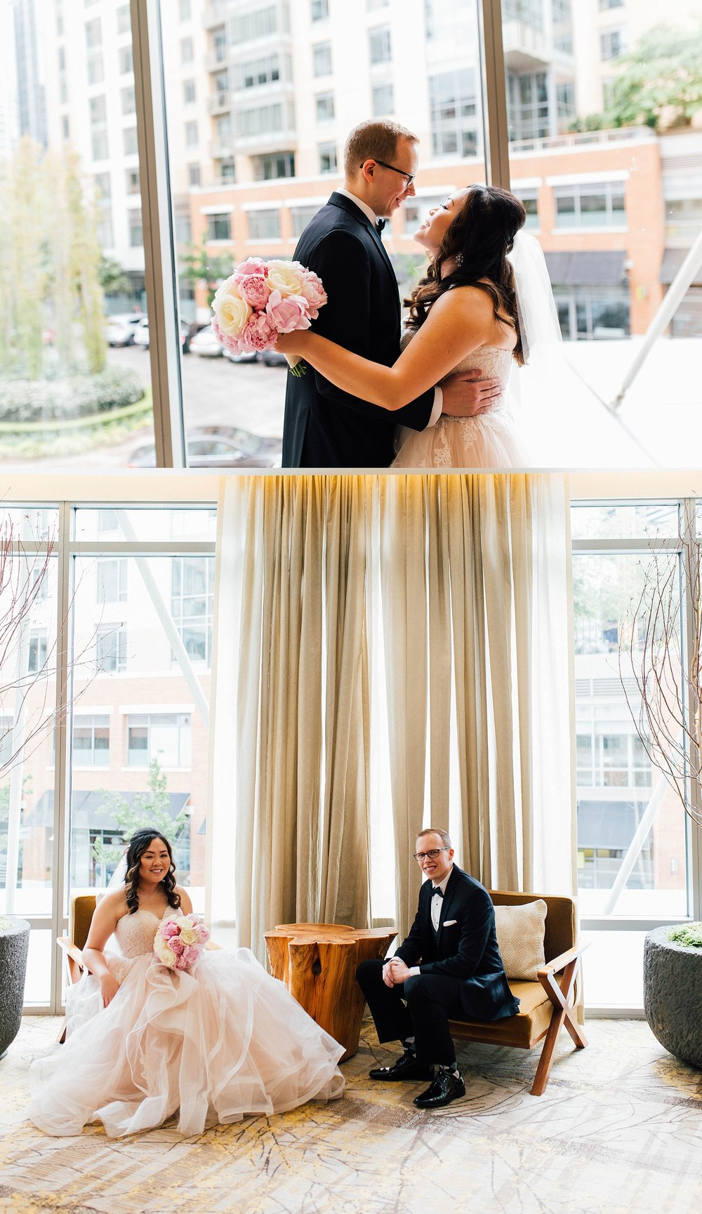 Seattle Pan Pacific Hotel Wedding | Kim + Cody | PNW Wedding Photographer-6.jpg