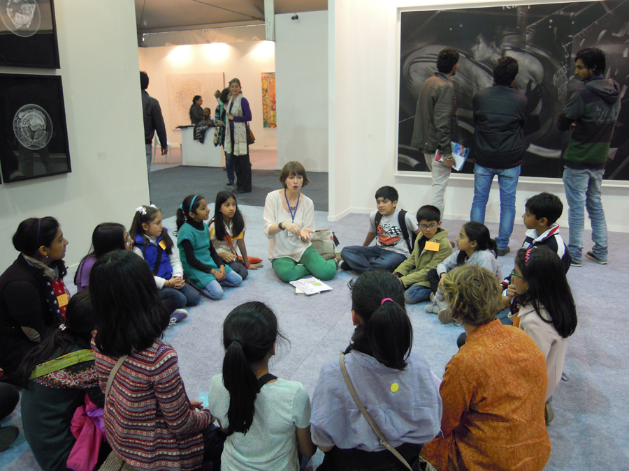 Art Detective at India Art Fair 2013