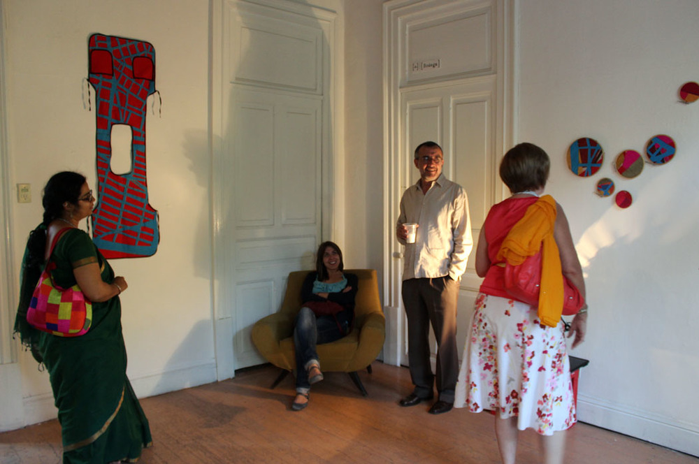 Open day at the R.A.T residency exhibition. Image courtesy: Nidhi Khurana