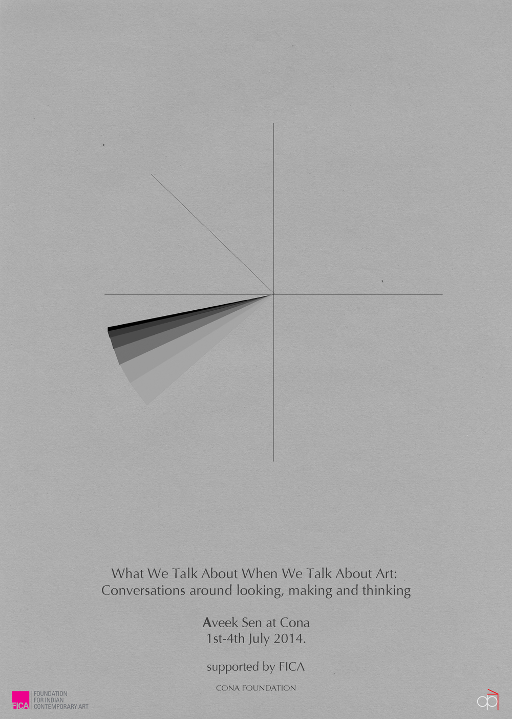 What We Talk About When We Talk About Art: Conversations around looking, making and thinking