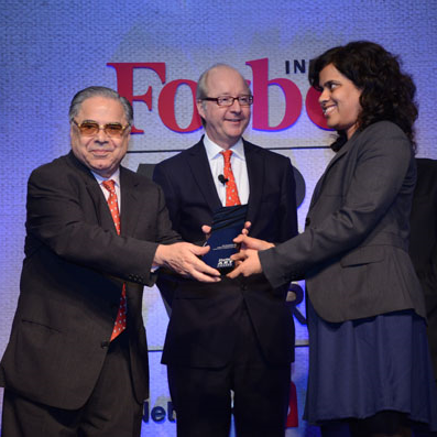 FICA received Forbes India Art Award 2014