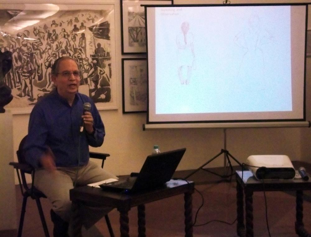Sudhir Patwardhan's presentation