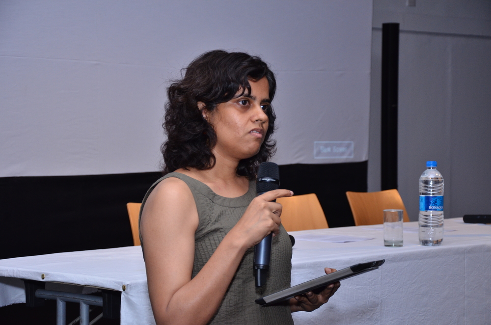 Vidya Shivadas, Director, FICA introduces the programme for Day 2