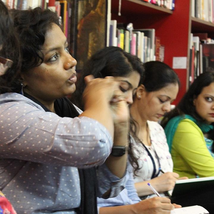 ART CATALYST: AN ART EDUCATORS' WORKSHOP by sarada natarajan