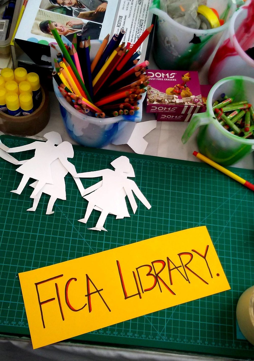 FICA MOBILE LIBRARY AT CHILDREN'S MELA | JANUARY 28, 2018
