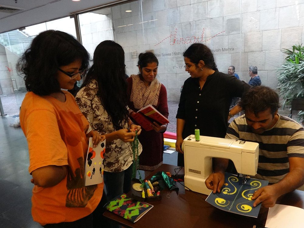 stitch your own journal by nidhi khurana