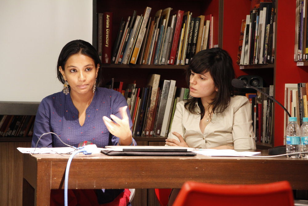 Presentations by Nida Ghouse & Anannya Mehtta