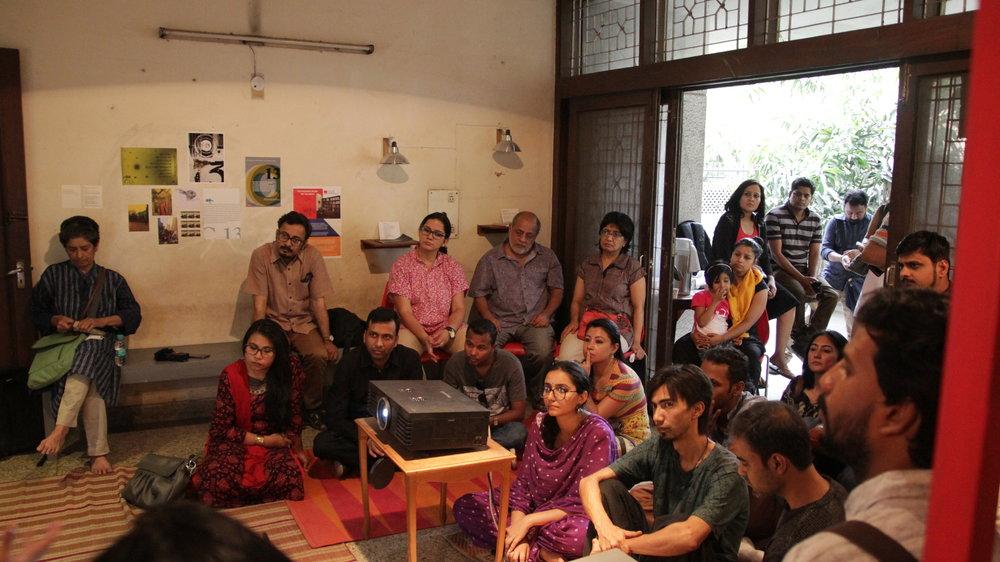 The Daily Act: Cartoon as Commentary Speakers: Shobha Madan, Vishwajyoti Ghosh, Ravikant | C-13