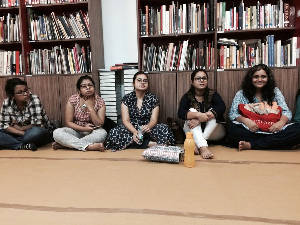 In Conversation with K.G. Subramanyan: An Illustration Workshop by lokesh khodke