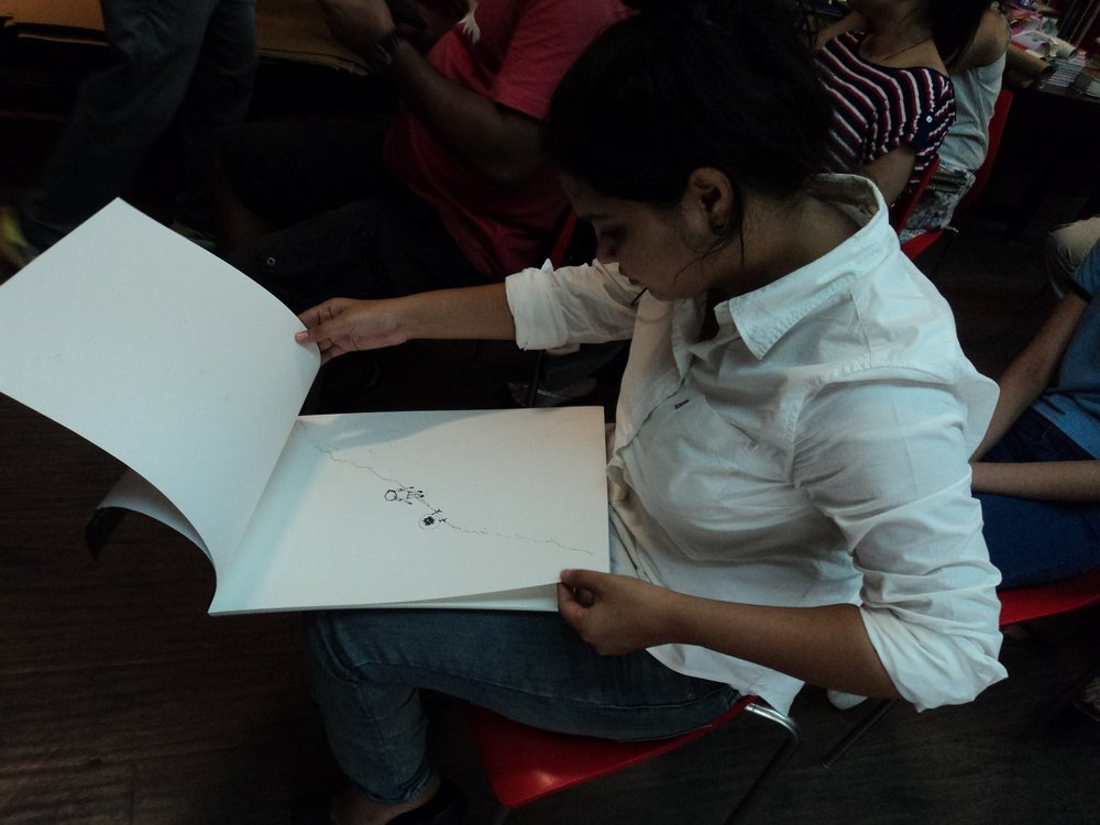 FAIR DRAWINGS | DRAWING WORKSHOP WITH GAGAN SINGH AT THE INDIA ART FAIR | OPEN FORUM